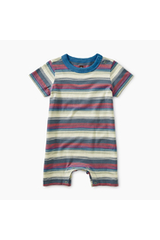 Tea Collection Striped Romper - Front cropped