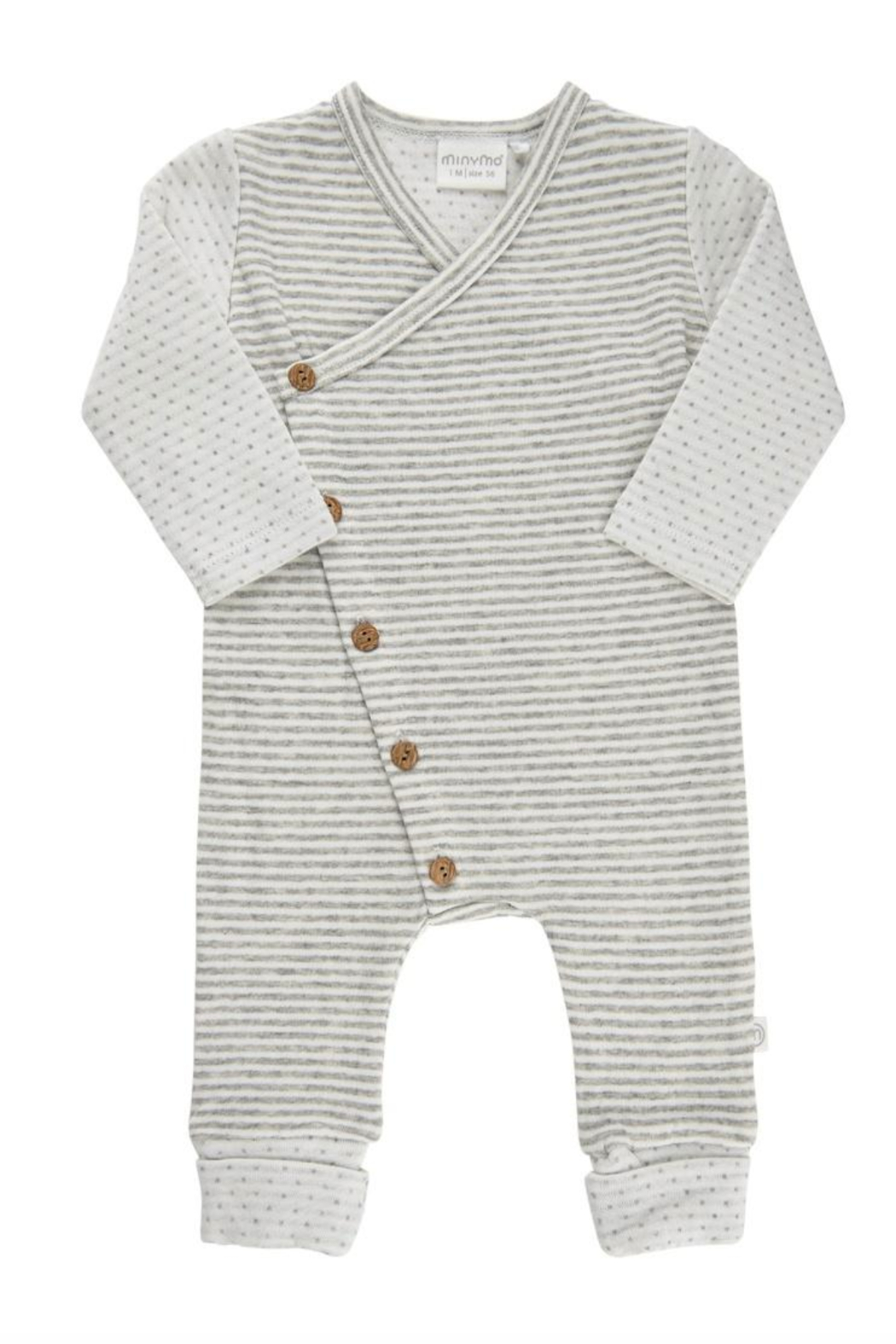 Minymo Striped Romper - Main Image