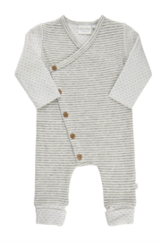 Minymo Striped Romper - Front cropped