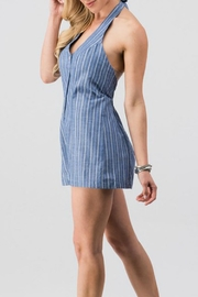 Modern Emporium Striped Romper - Side cropped