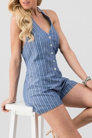 Modern Emporium Striped Romper - Product Mini Image