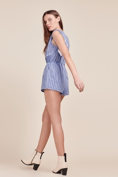 BB Dakota Striped Romper - Alternate List Image