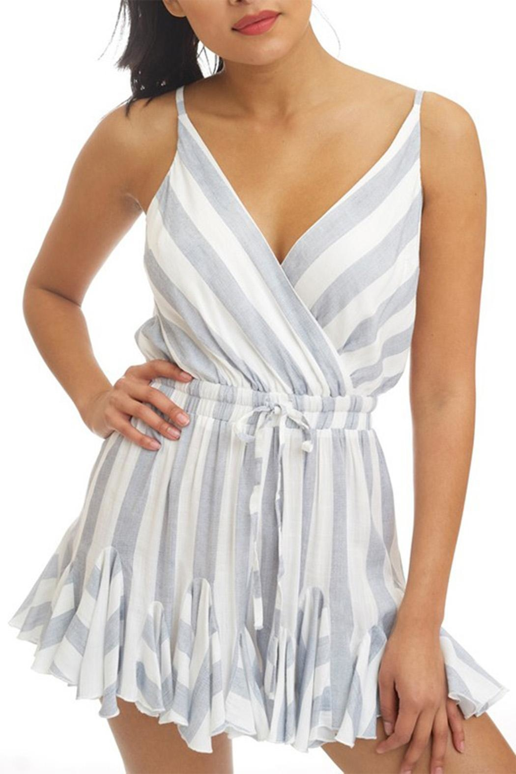 luxxel Striped Romper - Main Image