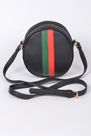 H & D Striped Round Bag - Product Mini Image
