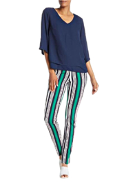 INSIGHT NYC Striped Scuba Pant - Product Mini Image