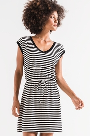z supply Striped Shirred Dress - Product Mini Image