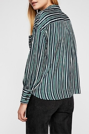Free People Striped Shirt - Front full body