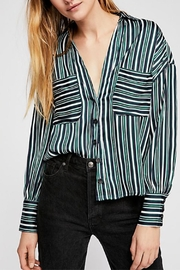 Free People Striped Shirt - Product Mini Image