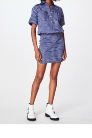 Nicole Miller Striped Shirt Dress - Product Mini Image