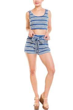 Shoptiques Product: Striped Short Set