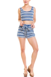 Wild Honey Striped Short Set - Front cropped