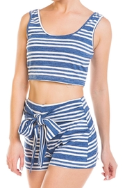 Wild Honey Striped Short Set - Side cropped