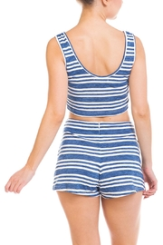 Wild Honey Striped Short Set - Back cropped