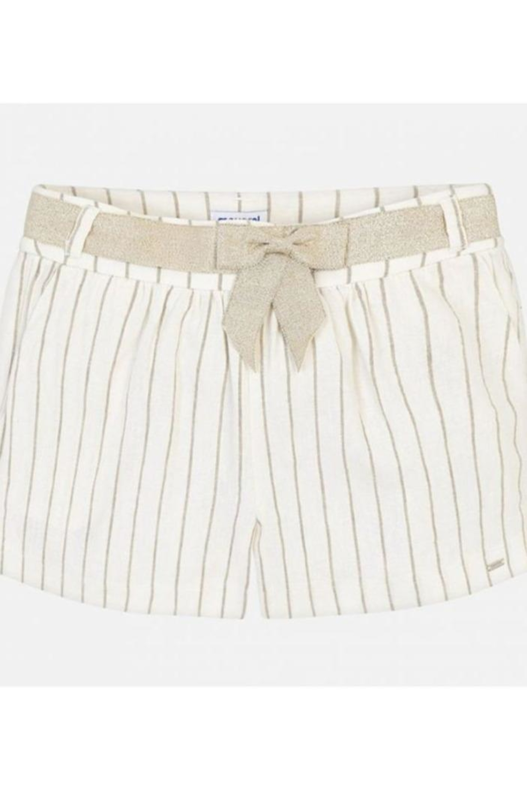 Mayoral Striped Shorts - Front Cropped Image