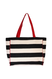 Riah Fashion Striped Shoulder Bag - Front cropped