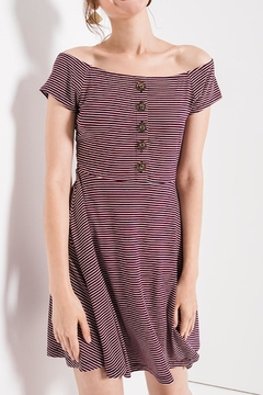 Others Follow  Striped Skater Dress - Product List Image