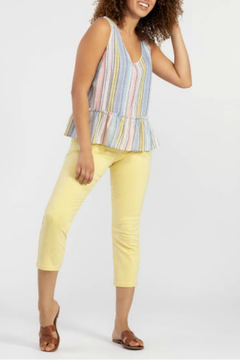 Shoptiques Product: Striped sleeveless blouse