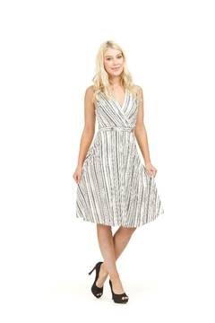 Papillon Striped Sleeveless Dress - Product List Image