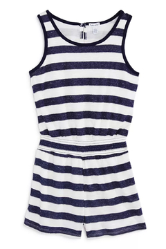 Shoptiques Product: Striped Sleeveless Romper