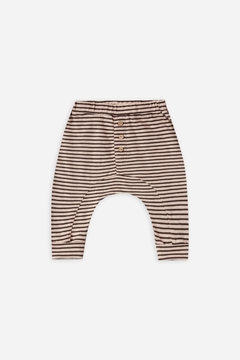 Rylee & Cru Striped Slub Baby Pant - Product List Image