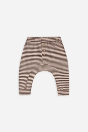 Rylee & Cru Striped Slub Baby Pant - Product Mini Image