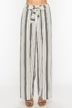 HYFVE Striped Split Pants - Product List Image