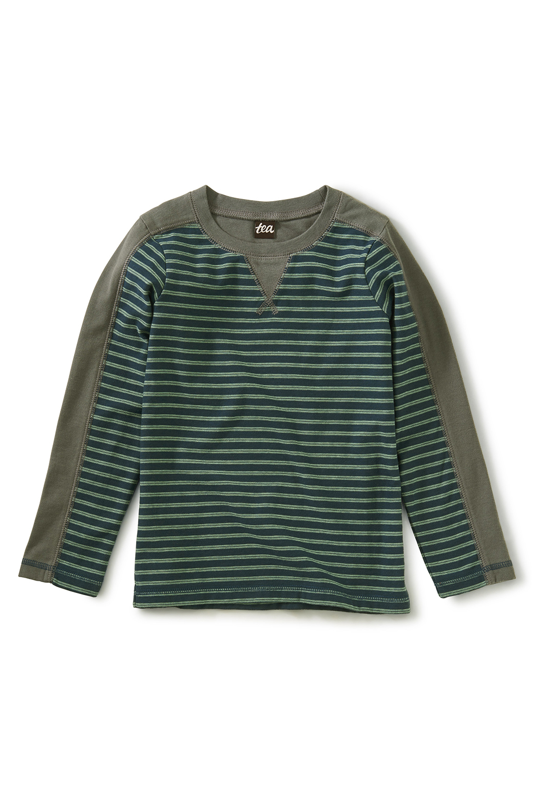 Tea Collection Striped Sporty Top - Main Image