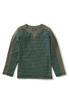 Shoptiques Product: Striped Sporty Top