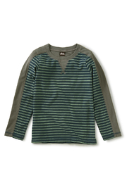 Tea Collection Striped Sporty Top - Product Mini Image