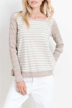 Hem & Thread Striped Spring Top - Product List Image