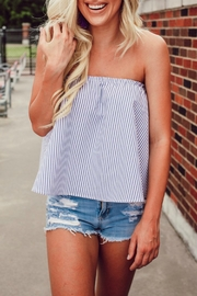 Buddy Love Striped Staniel Top - Product Mini Image
