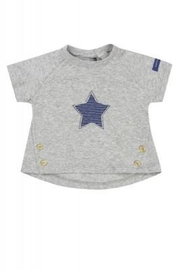 Belly Button Striped Star Shirt - Front cropped