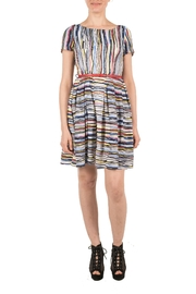 Miss Lulo Striped Summer Dress - Product Mini Image