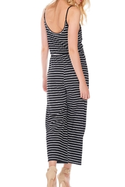 Anama Striped Surplice Romper - Side cropped