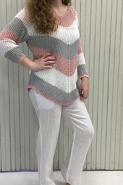 M made in Italy Striped Sweater - Product Mini Image