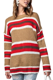 easel Striped Sweater - Product Mini Image