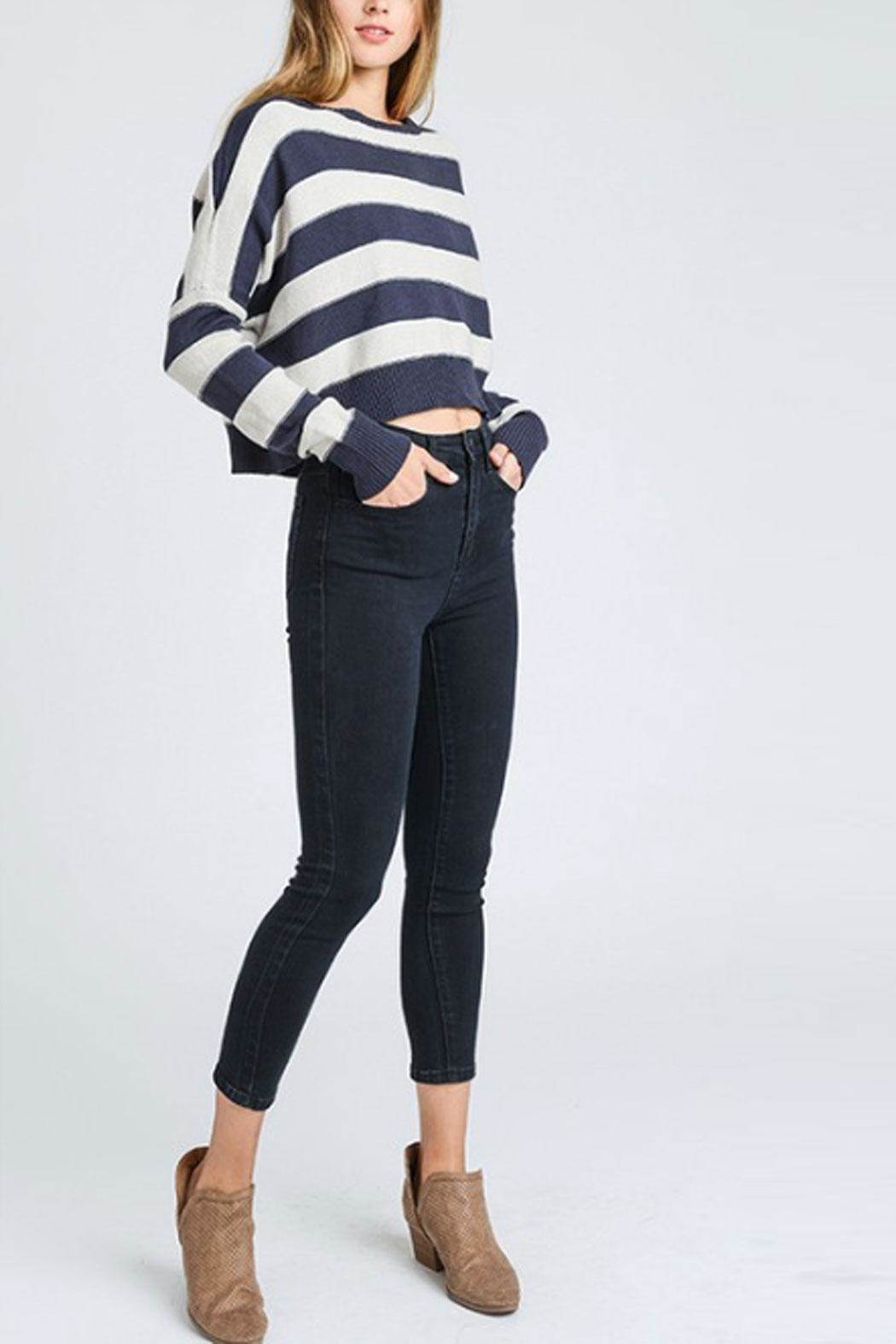 storia Striped Sweater - Front Full Image
