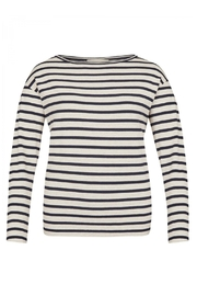 Via Appia Striped Sweater - Product Mini Image