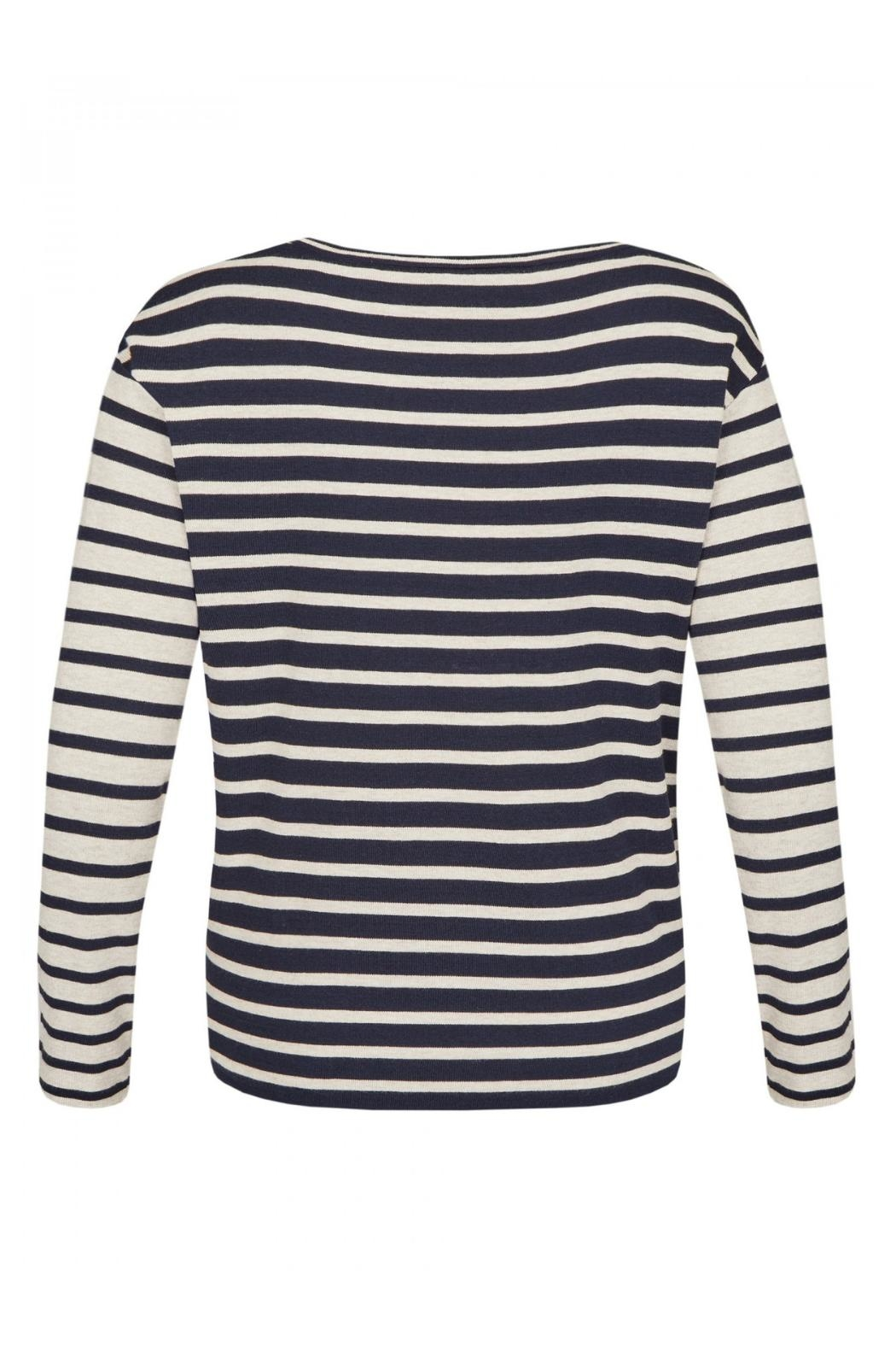Via Appia Striped Sweater - Front Full Image
