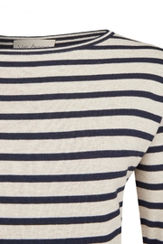 Via Appia Striped Sweater - Side cropped