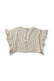 Tea Collection Striped Sweater Poncho - Product Mini Image