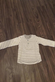 Belly Button Striped Sweatshirt - Front cropped