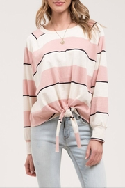 Blu Pepper Striped Sweatshirt - Product Mini Image