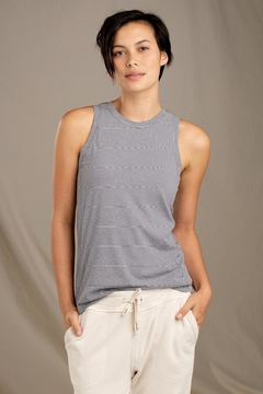 Shoptiques Product: Striped Swifty Tank
