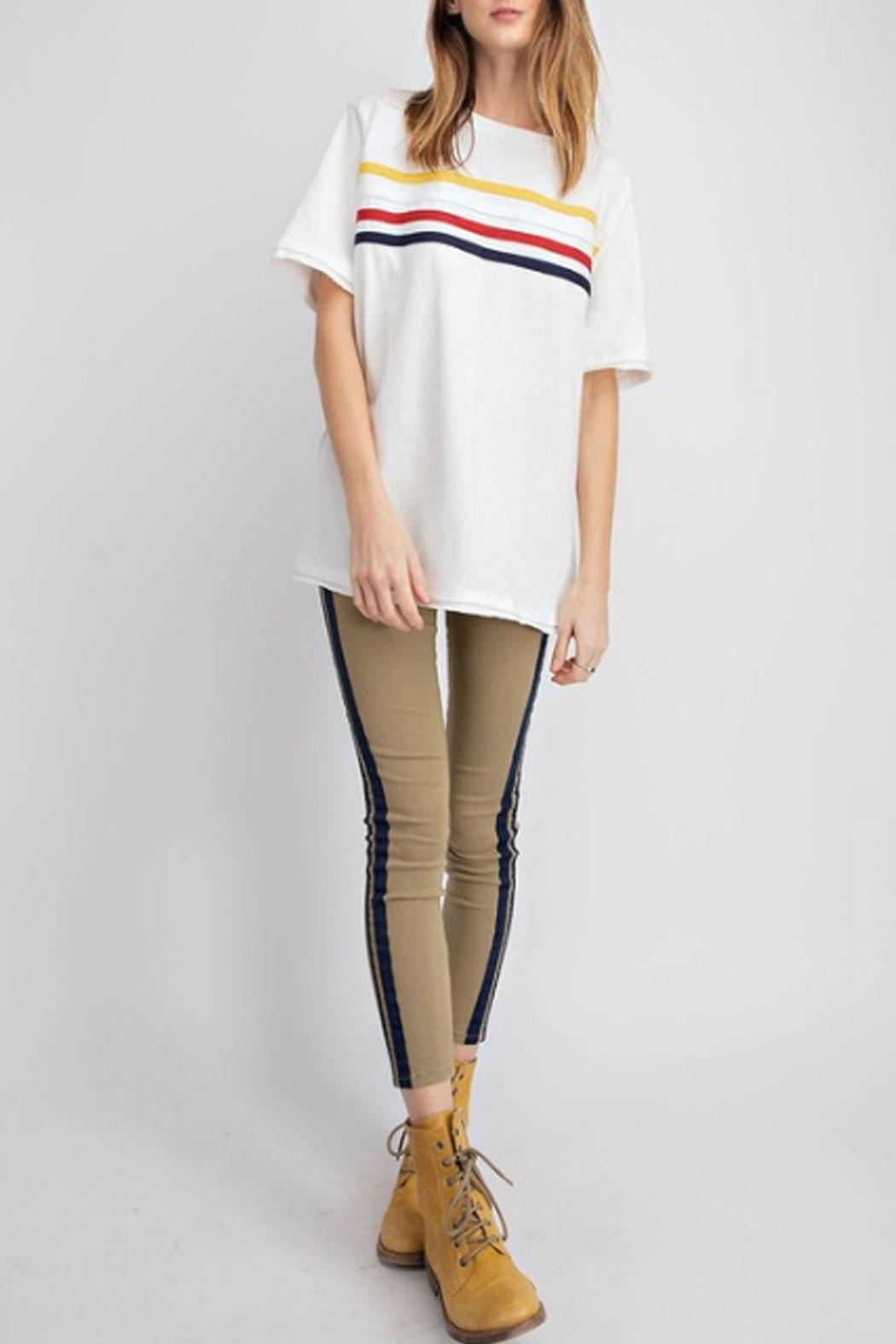 easel Striped T-Shirt - Main Image