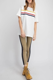 easel Striped T-Shirt - Front cropped