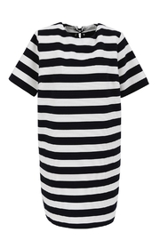 FRNCH Striped T-Shirt Dress - Front cropped