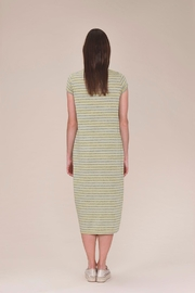 UCHUU Striped T-Shirt Dress - Front full body