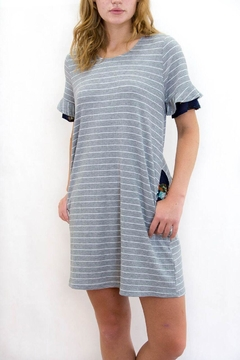 Joh Apparel Striped T-Shirt Dress - Product List Image