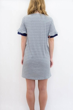 Joh Apparel Striped T-Shirt Dress - Alternate List Image